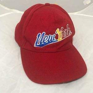 Other - New York color cap hat
